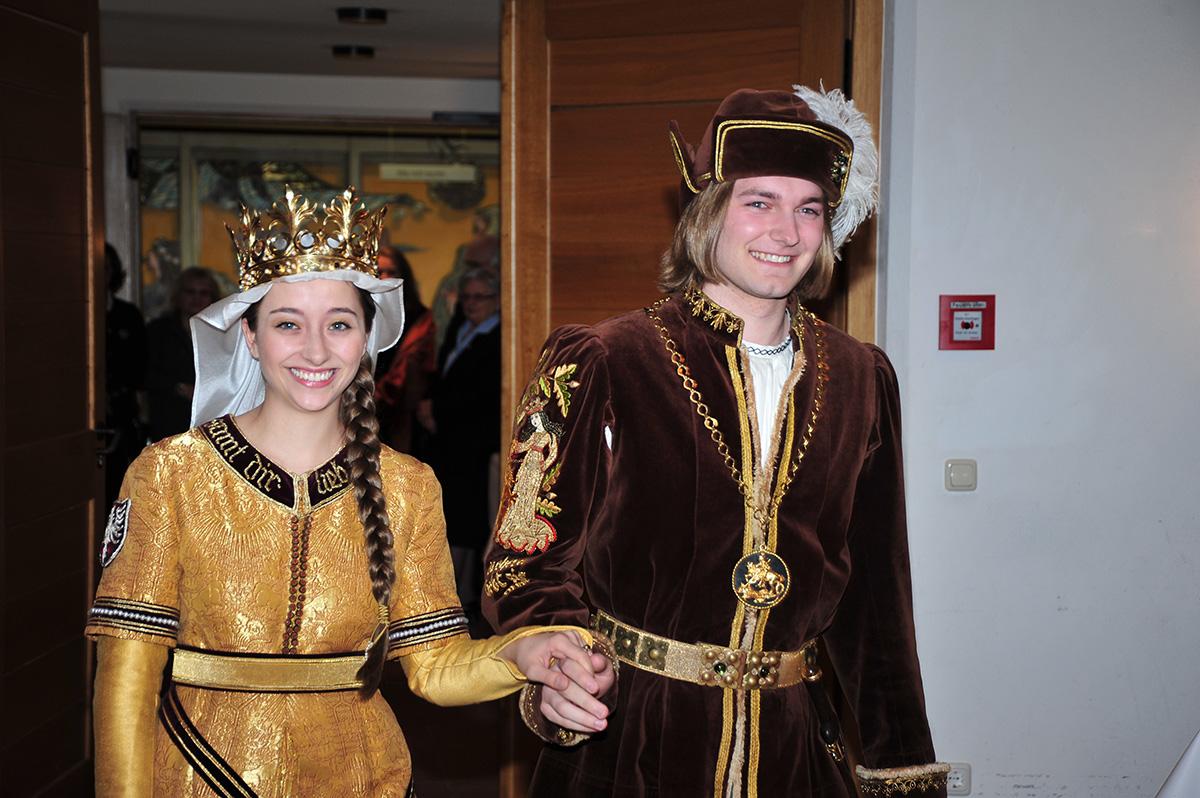 Landshuter Hochzeit Brautpaar