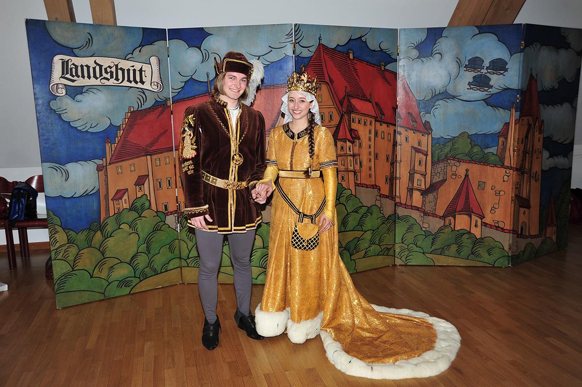 Brautpaar 2017 Landshuter Hochzeit